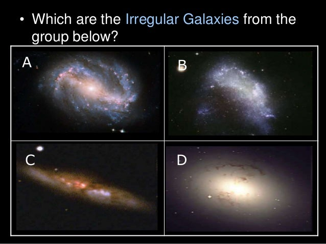 Galaxy Types of Galaxies Astronomy Lesson PowerPoint – Types of Galaxies Worksheet