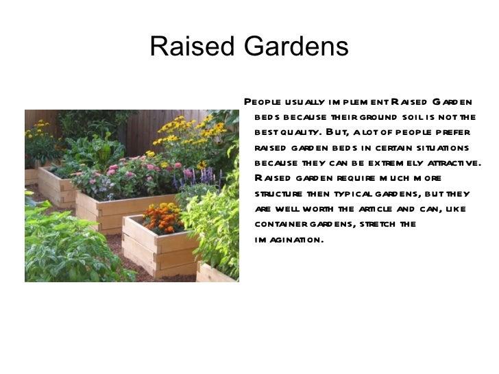 Types Of Gardens