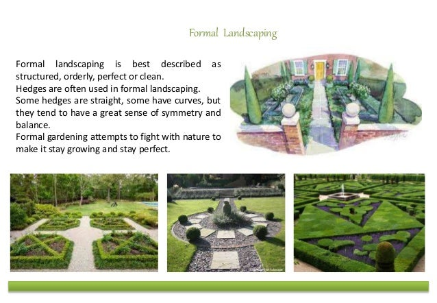 Islamic Gardens And Landscapes Types of gardens formal and informal landscaping 3 workwithnaturefo