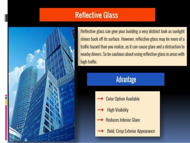 types of glass for commercial building 2