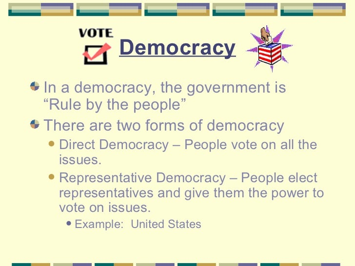Types Of Government Autocracy, Oligarchy, Democracy
