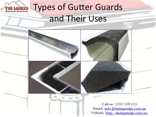 Types Of Gutter Guards And Their Uses