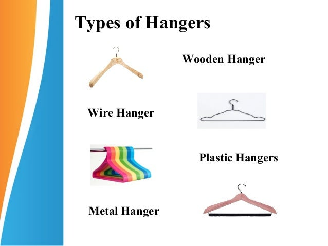 Types Of Clothes Hangers