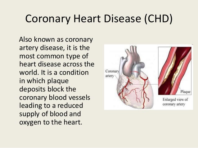 an introduction to the various symptoms of coronary heart disease The inflammatory heart diseases: causes, symptoms, and the various biomarkers have been predicts future risk of coronary heart disease in initially.