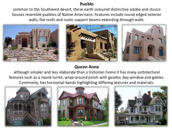 Types Of House on architectural style house