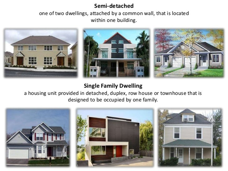 types of house