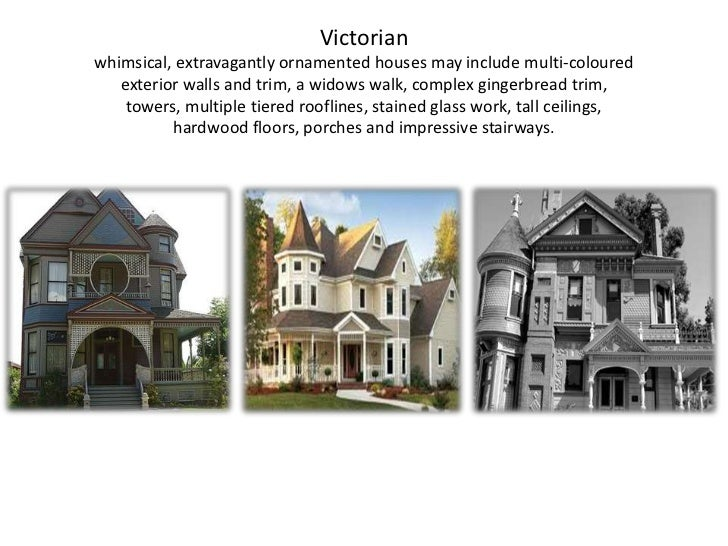 Types of house - Types of victorian homes ...