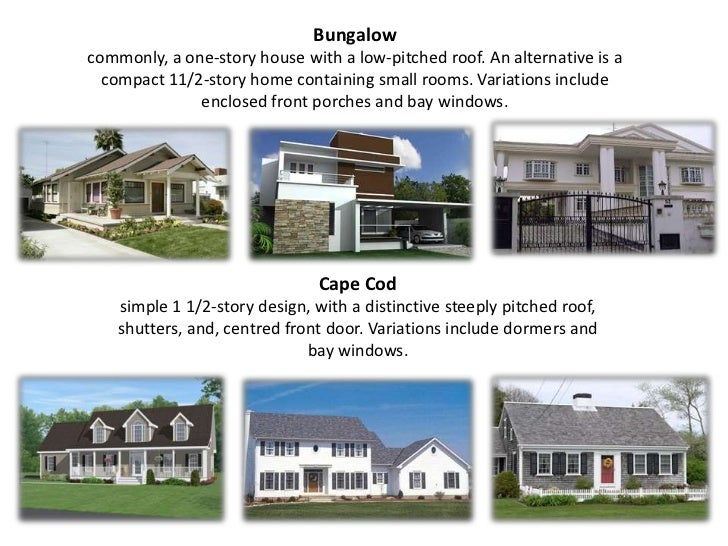 Types of house for Different types of houses in usa
