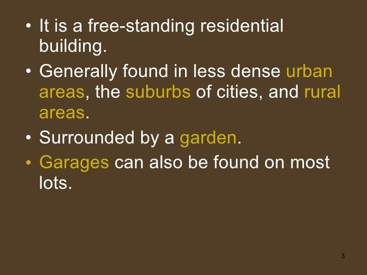 Types Of Houses Slide 3