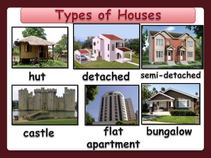 Sensational Types Of Houses Powerpoint Largest Home Design Picture Inspirations Pitcheantrous