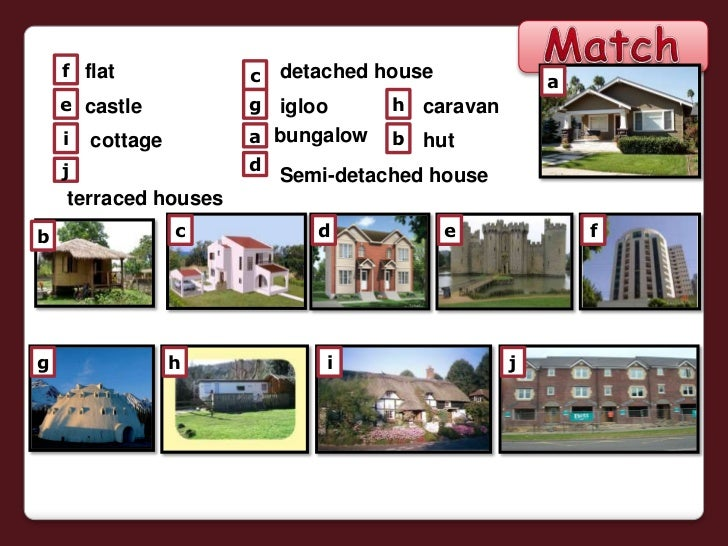 Types of Houses: PowerPoint