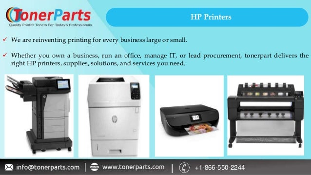 Types of HP Printers for Home & Office - Toner Parts