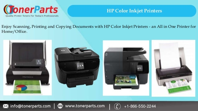 Types of HP Printers for Home & Office