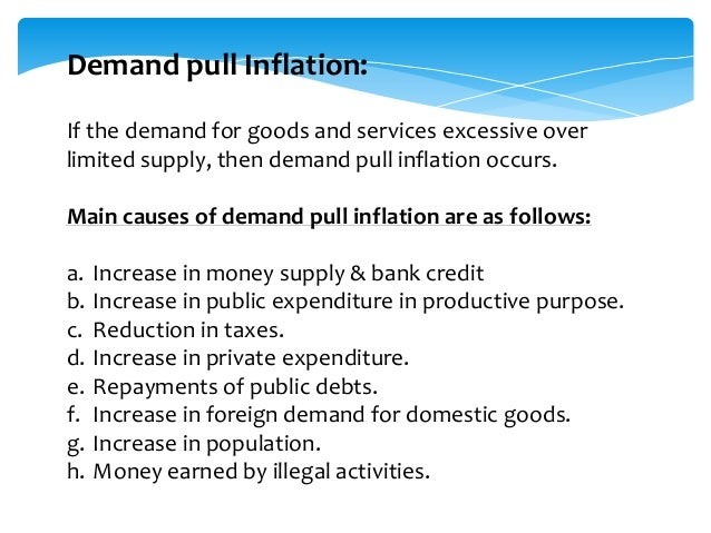 causes and types of inflation