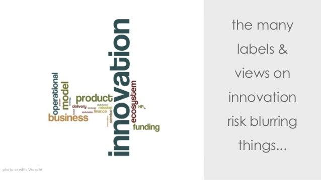 Types of innovation a 3D model Slide 2