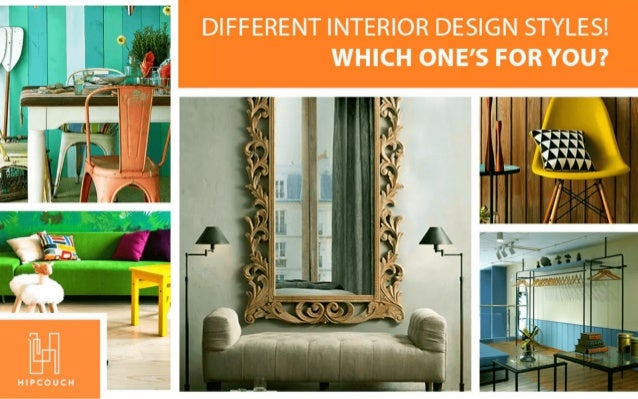 So Many Different Interior Design Styles! Which one's for YOU?