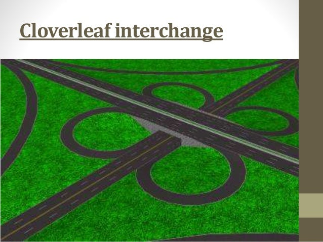 Types of intersection of road and design parameters of road intersect…