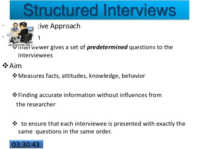 structure of an interview Start studying interviewing techniques - structure of the interview learn vocabulary, terms, and more with flashcards, games, and other study tools.