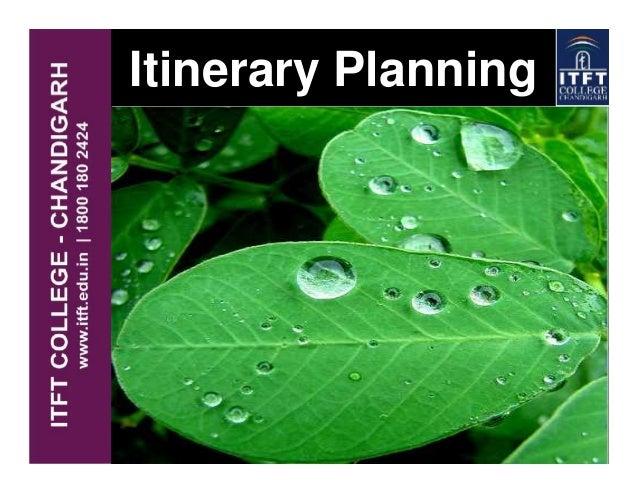 Itinerary Planning