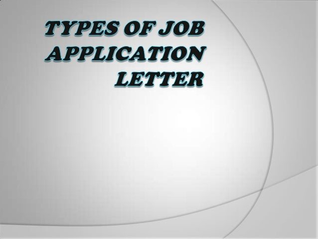 introduction a job application letter is an applicants first contact with a prospective employer