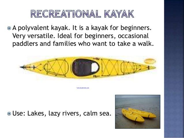 Types Of Kayak