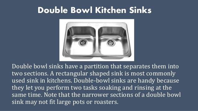 Types of kitchen sinks for Kitchen sinks types
