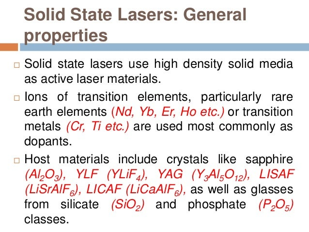 detection of impurities in nd doped phosphate laser glass Sergey b mirov, university professor of physics  nd-phosphate glass laser for  crystals co-doped with donor and acceptor impurities.