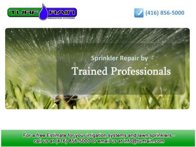 Benefits of using Lawn Sprinkler Systems                 Types of Lawn Sprinklers