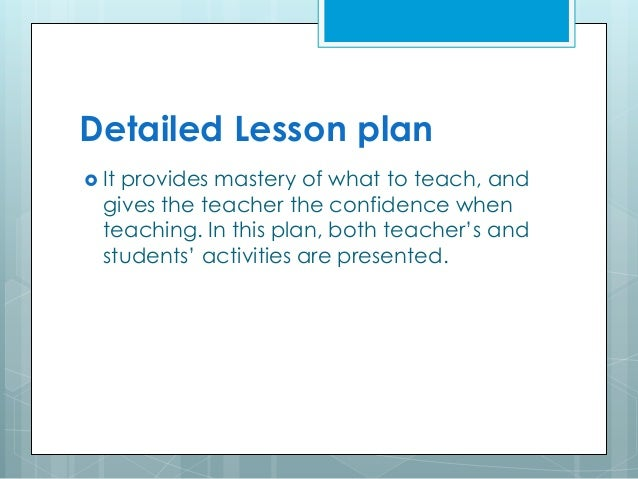 Types of lesson plan - Game design lesson plans for teachers ...