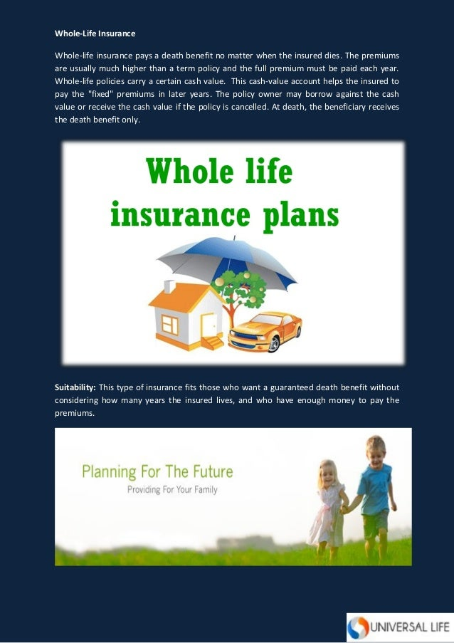 An Overview on Different Types of Life Insurance