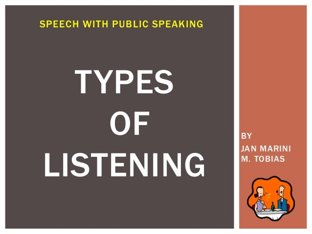 styles of listening Listening skills are often overlooked in discussions of communication understanding different listening styles can help improve your e-learning content.