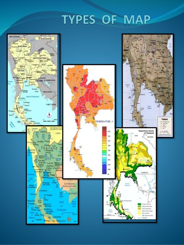 Types of map