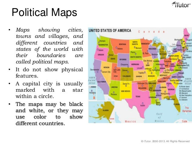 Political Maps ...
