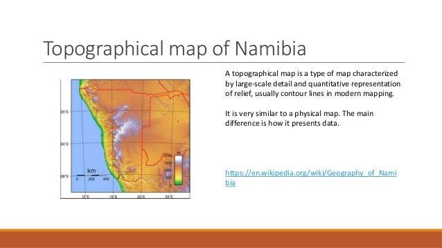 Types of mapsNamibia