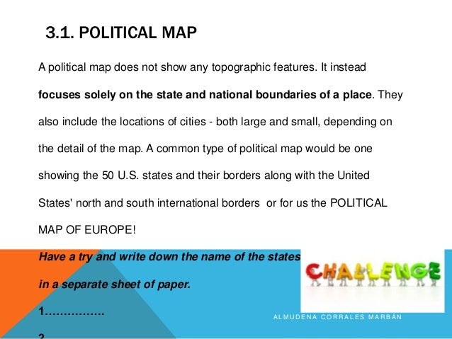 What Is The Difference Between A Physical And Political Map World