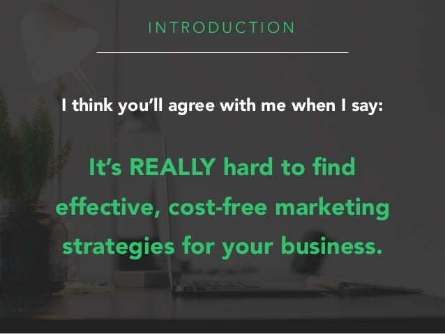 8 Free Types of Marketing Strategies Slide 3