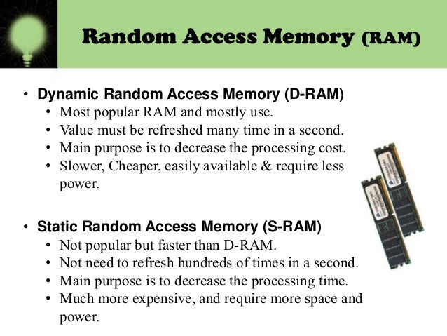 how to tell the different types of ram