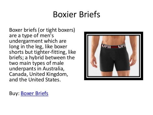 Types of Men's Underwear