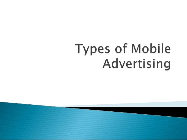  In the past decade, mobile advertising has grown tremendously and is poised to overtake desktop advertising in total dol...