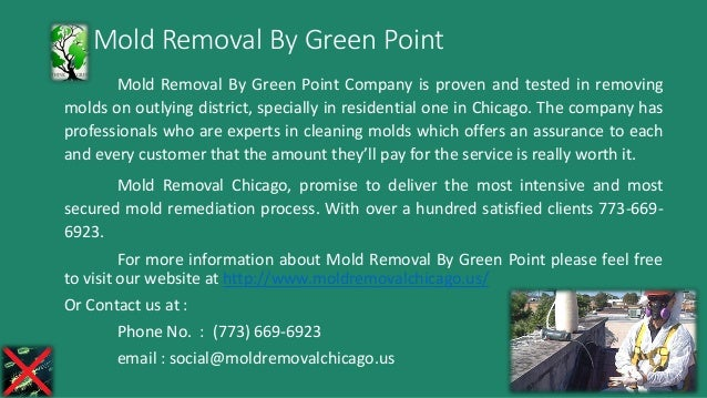 Mold Removal By Green Point Mold Removal By Green Point Company is proven and tested in removing molds on outlying distric...