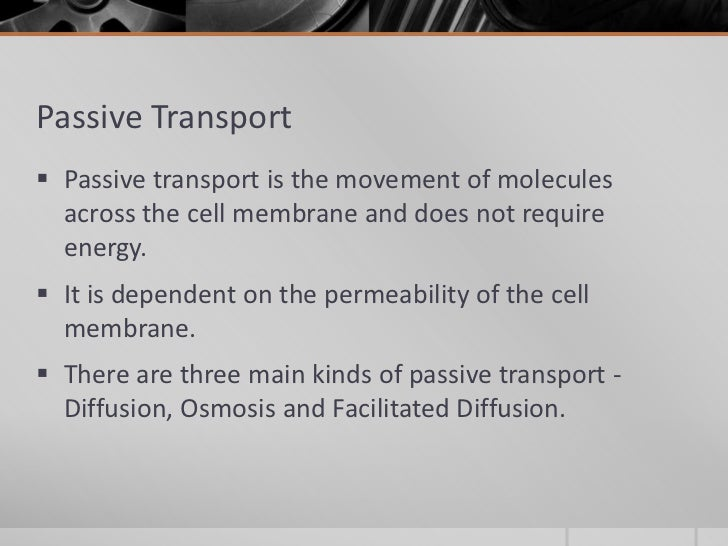 the different cell membrane transport mechanisms The three major classes of membrane transport proteins are depicted in figure 15-3a all are integral transmembrane proteins and exhibit a high degree of specificity for the substance.