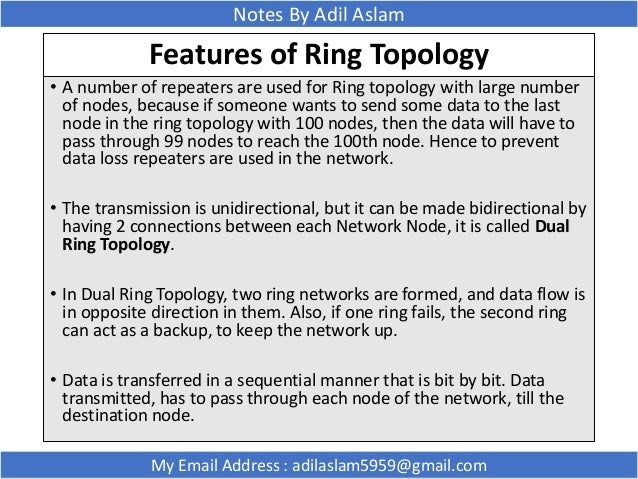 network topologies notes gallery