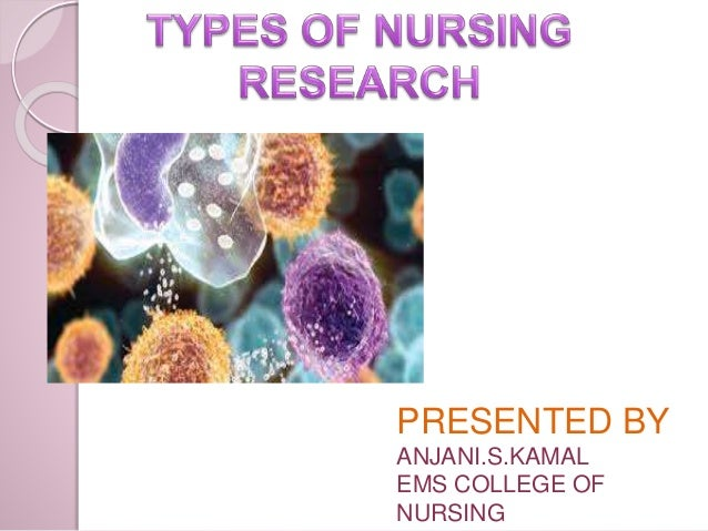 Kinds of nursing research