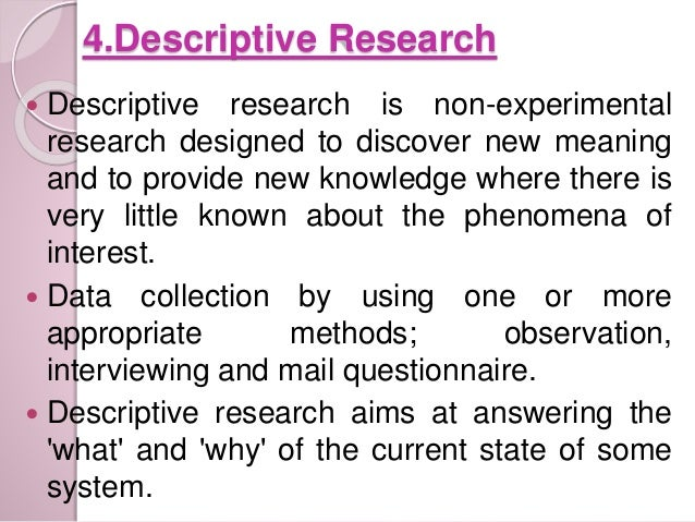 meaning of descriptive research Research definition is - careful or diligent search how to use research in a sentence  in the meaning defined at sense 1 see words from the same year.