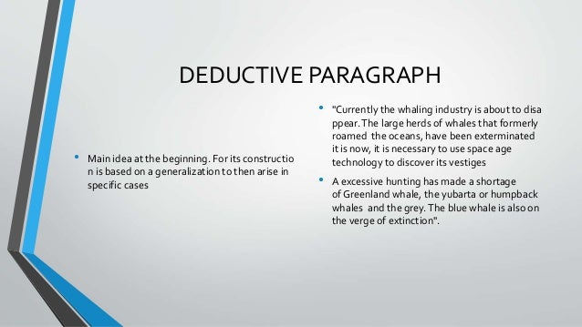 types of paragraph  3