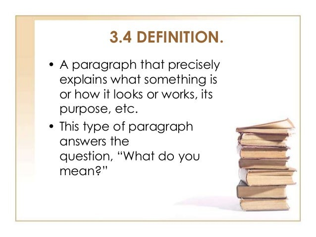 types of paragraphs Improve your paper by writing structured paragraphs removed way of dealing with people this type of communication does not result in connections.