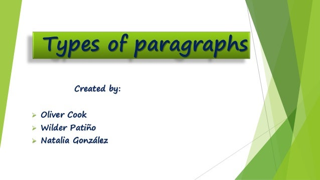 the four types of paragraphs Microsoft word: formatting paragraphs a paragraph in word is any text that ends with a hard return you insert a hard return anytime you press the enter key.