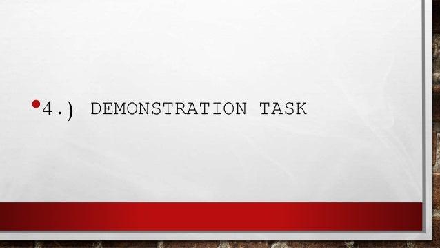 •6.) PRESENTATION TASK