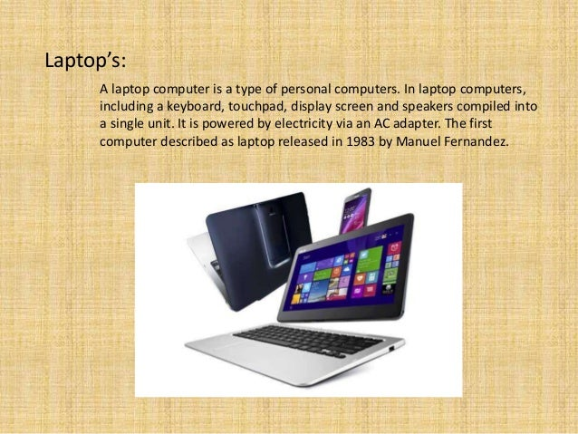 describe the laptop essay Macbook air is a thin, lightweight laptop from apple because it is a full-sized notebook but only weighs three pounds, the laptop falls into a category that vendors are currently calling 'ultraportable' according to apple, the macbook air battery will last up to five hours, depending on what tasks.