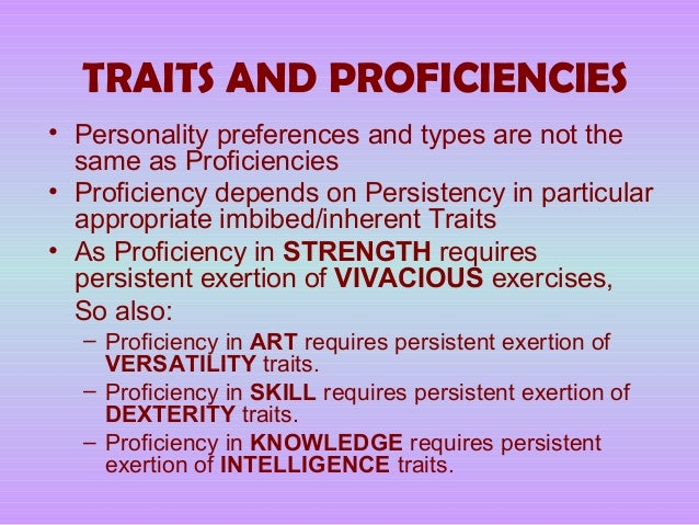 the stability of intelligence and personality According to eysenck, personality traits are genetically inherited extraversion and introversion eysenck's theory of personality focused on two dimensions of higher-order traits, extraversion vs introversion and emotional stability vs.